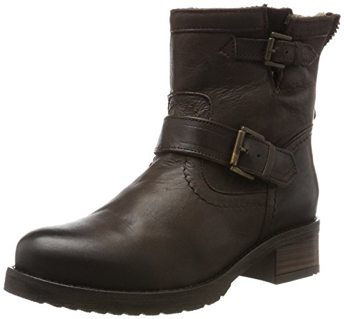 Buffalo ES Castanho Suede Women's Brown 05 Boots Biker Mexico London 30493l zwErSnqza