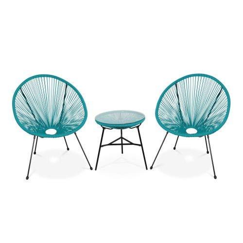 Alices Garden Acapulco - Juego de 2 sillones con Forma de ...