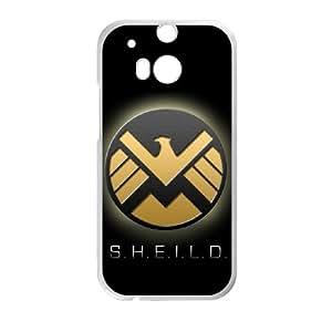 S.H.I.E.L.D HTC One M8 Cell Phone Case White SA9676143