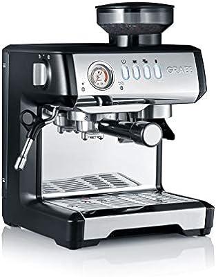 Graef ESM802EU Milegra - Cafetera espresso con portafiltros (1600 ...