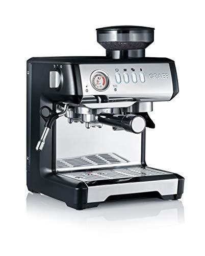 Graef ESM802EU Milegra – Cafetera espresso con portafiltros (1600), color negro