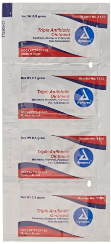 First Voice TS-1180 Antibiotic Ointment (Box of 144)