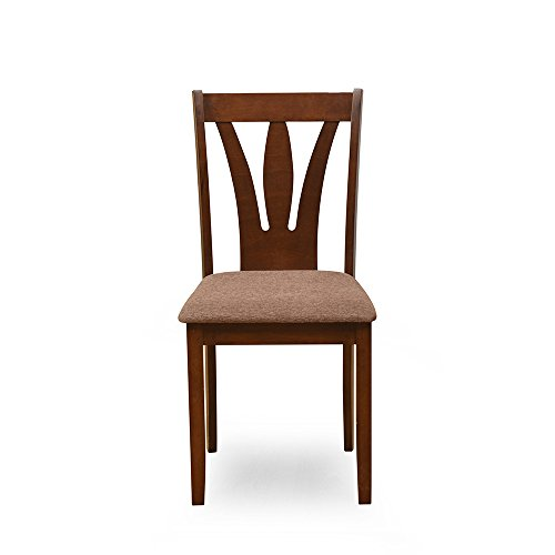 @home by Nilkamal Bony Dining Chair  Brown