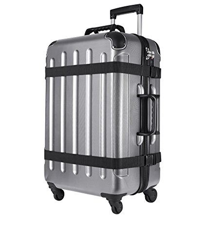 VinGardeValise Wine Travel Suitcase (12 Bottle) Newest Model (One Size, Silver) by Vin Garde Valise (Image #3)'