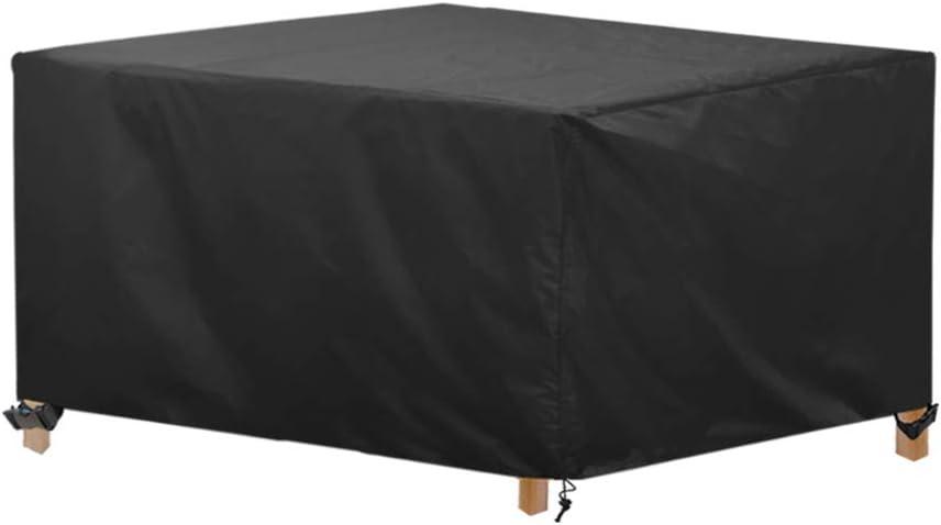 AWNIC - Funda para muebles de jardín, impermeable, ideal para mesa y sillas: Amazon.es: Jardín