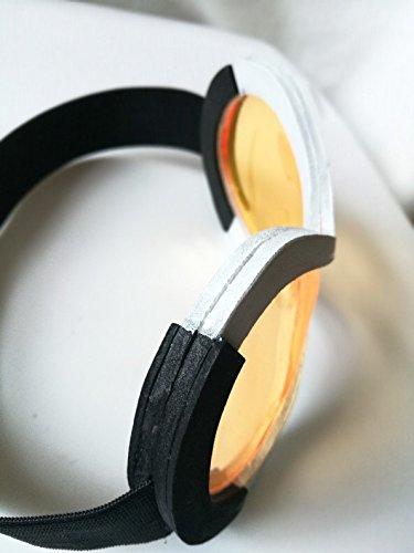 Tracer Cosplay Goggles Handmade Costume Props Orange Lens Halloween Unisex