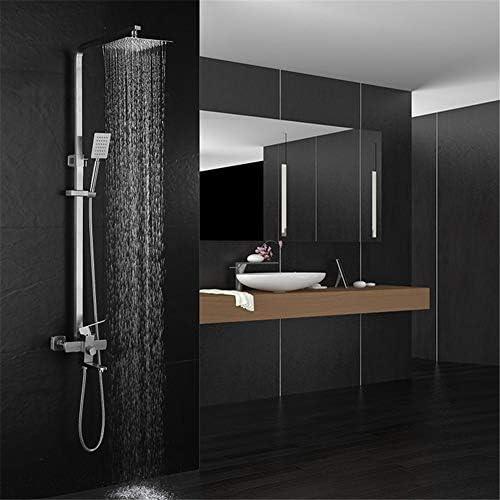 システムのシャワーヘッドシャワー、ハンドシャワー調整スライドバーは、ニッケル、ステンレス鋼のシャワーは4ウェイ3速シャワーセットハンドヘルドブースターシャワーセットを設定して急いで