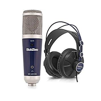 SubZero SZC-600-USB Pack de grabacion de microfono de condensador ...