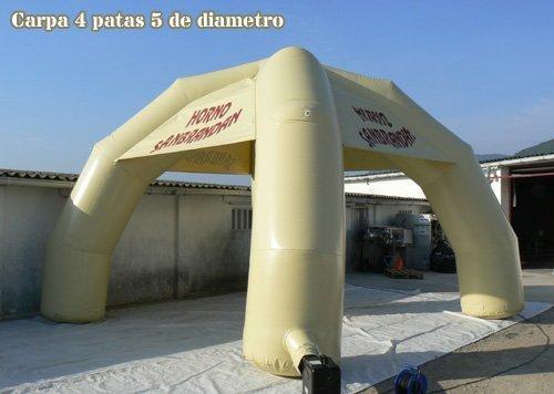 TUCUMAN AVENTURA - Carpas hinchables 4 Patas: Amazon.es ...