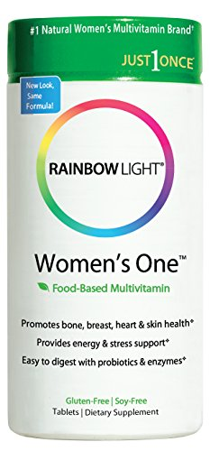 Rainbow Light, nur einmal, Frauen-Einer, Food-Based Multivitamin, 150 Tabletten