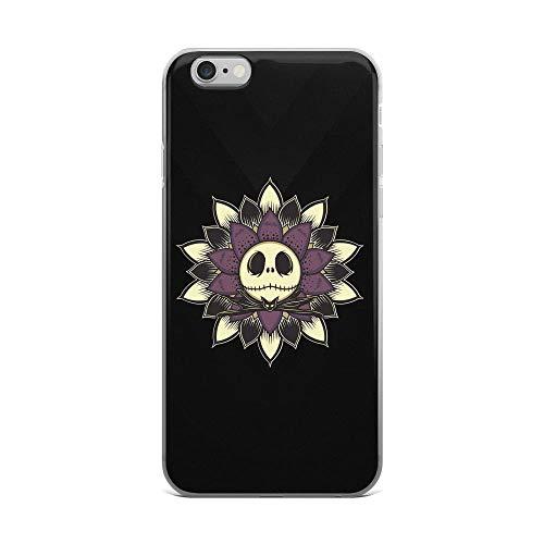 iPhone 6 Plus/6s Plus Pure Clear Case Cases Cover Jack Mandala Musical Dark Fantasy Halloween-Christmas ()
