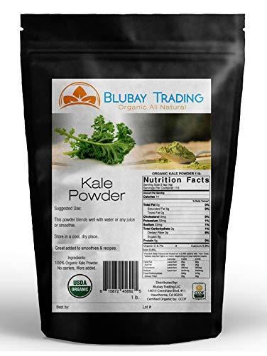 Kale Powder Organic 1 lb. 100% Pure Non-Gmo Superfood For Sale