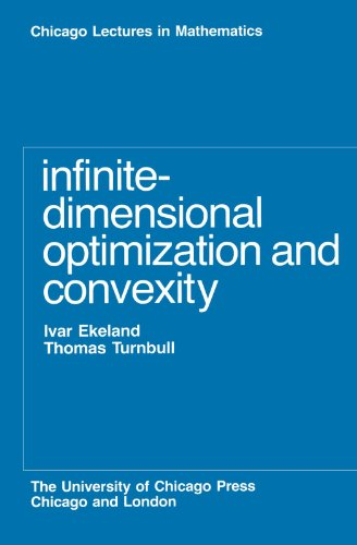 Infinite-Dimensional Optimization and Convexity (Chicago Lectures in Mathematics)