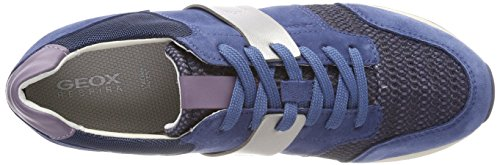 Geox Women D Deynna D Low-Top Sneakers Blue (Denim C4008) RnzaW6Vf