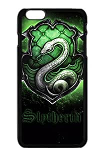 Custom Harry Potter House Slytherin Skin Phone Case Cover Hard Plastic Case Cover for Apple Iphone 6 (4.7 Inch)