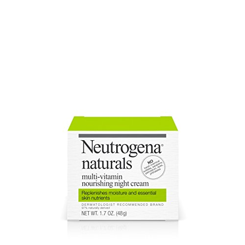 Neutrogena Naturals Multi-Vitamin Hydrating & Nourishing Facial Night Cream, 1.7 Oz.
