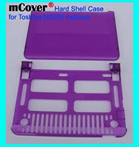 mCover Hard Shell Sleeve Carrying Case for Toshiba NB205 series Netbook - PURPLE