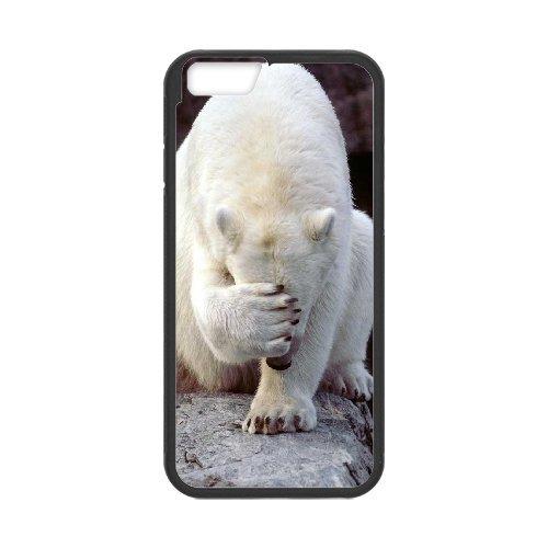 "LP-LG Phone Case Of Polar Bear For iPhone 6 (4.7"") [Pattern-6]"