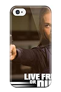 Defender Case With Nice Appearance (die Hard Movie People Movie) For Iphone 4/4s