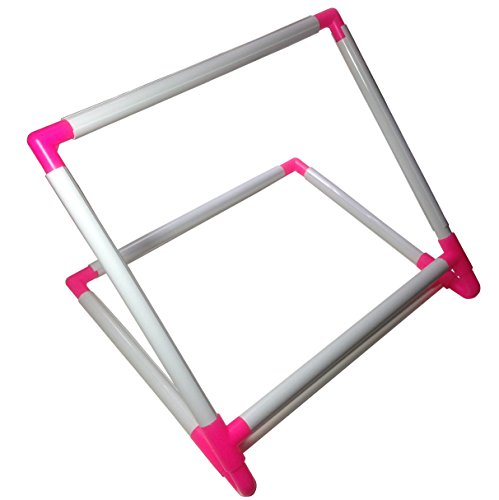 BaouRouge' Double Universal Clip Frame / Stand for Embroidery, Quilting, Cross-stitch, Needlepoint, Silk-painting, etc - (Cross Stitch Needlepoint)