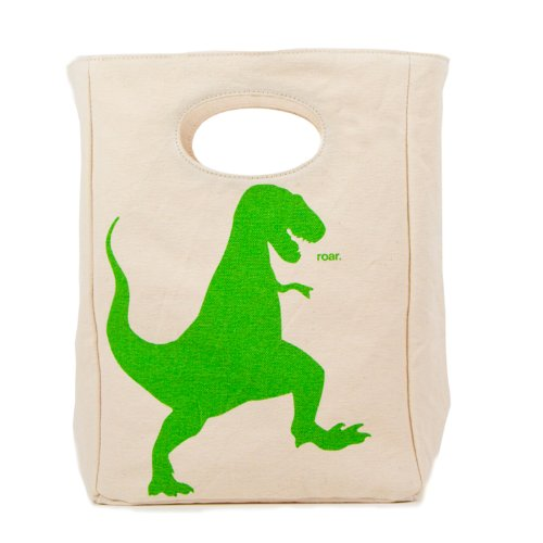 Fluf Organic Cotton Lunch Bag, T-Rex