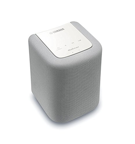 Yamaha MusicCast WX-010 Wireless Speaker with Bluetooth (White), Works with Alexa by Yamaha