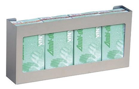 OMNIMED 305304 - 1 cuádruple soporte para caja de guantes/dispensador: Amazon.es: Amazon.es