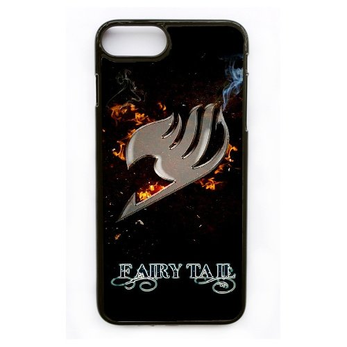 Apple iphone 7 Plus (5.5 inch) Case, Fairy Tail Guild Logo Phone Case for Apple iphone 7 Plus (5.5 inch) Black Plastic Ultra Slim Cover Case GHST1138945