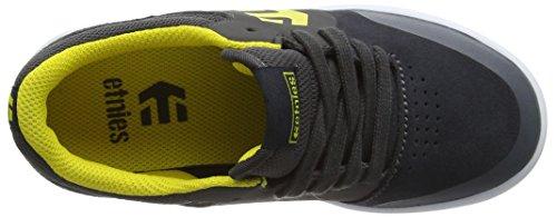 Etnies Marana, Chaussures à Roulettes Garçons-Filles, Grey (Grey/Yellow360), 29 EU