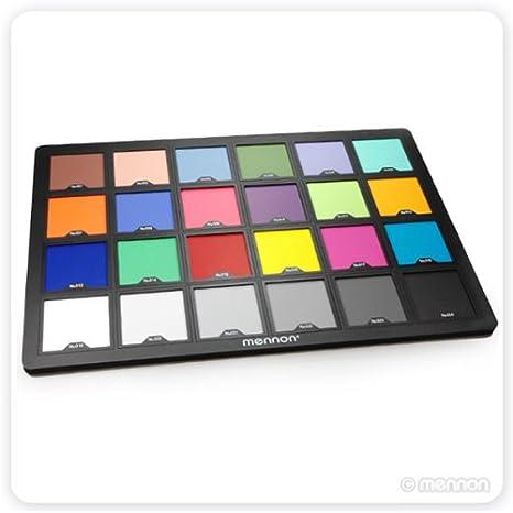 Amazon Mennon Test Color Chart Super Large Size 15x10