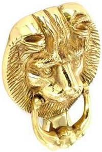 Gold Securit S2250 Lion Head Knocker 150mm