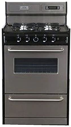 stove 24 inch. summit appliances tnm63027bfkwy 24 inch gas range with electronic ignition - stainless steel and black stove u