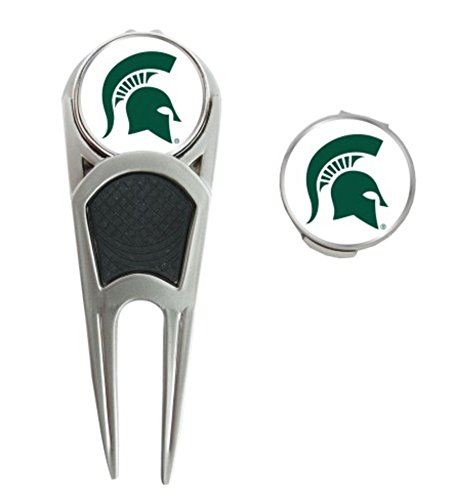 WinCraft NCAA Michigan State University Golf Mark/Tool/H Clip Combo