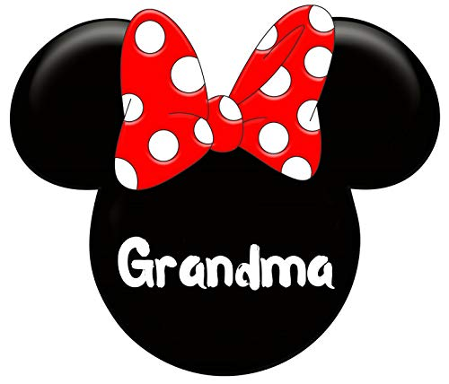 (Minnie Mouse Grandma Iron On Transfer for T-Shirts & Other Light Color Fabrics #3)