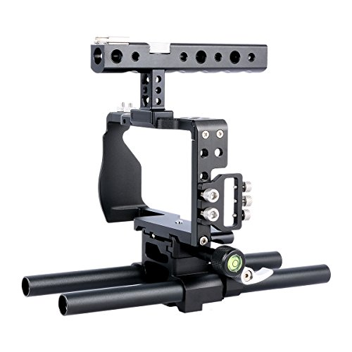 YaeCCC Pro Video Cage Rig Kit Film Making System with 15mm R