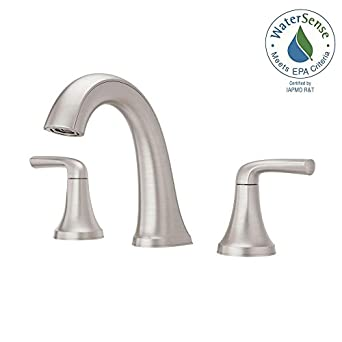 Widespread 2 Handle Bathroom Faucet In Spot