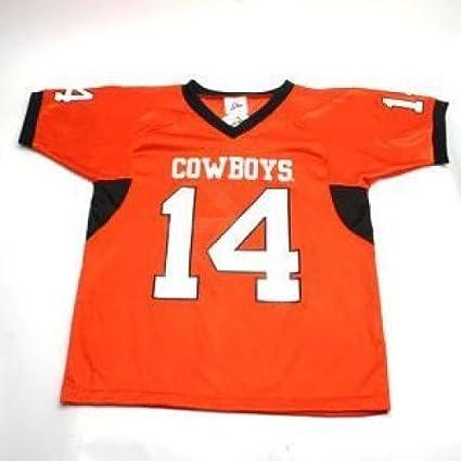 Amazon.com   IZAW Oklahoma State Cowboys  14 Football Jersey - Men ... d99e7ff20