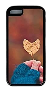 LJF phone case Lovely Love Leaves Cases For iphone 4/4s - Summer Unique Wholesale 5c Cases