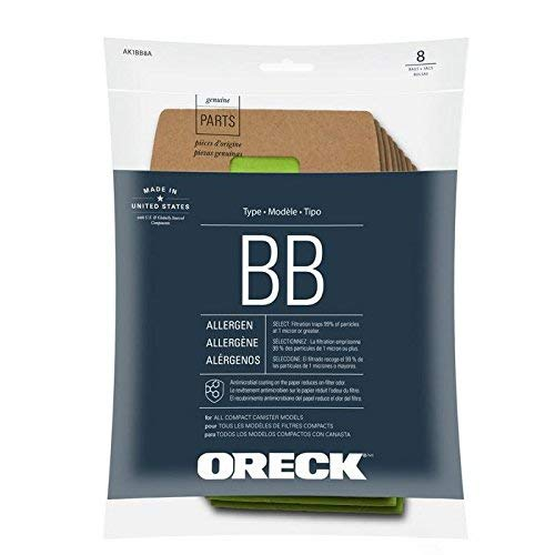 oreck vacuum bags type bb - 4
