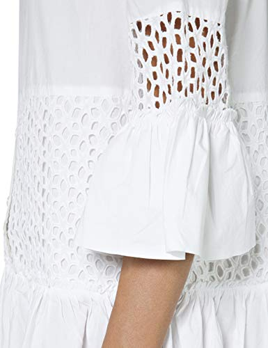 Vestido Replay Mujer optical Para 1 Blanco White OAAZ4rwq