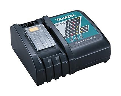 Makita DC18RC - Cargador rápido de baterías de ion de litio (7,2 ...
