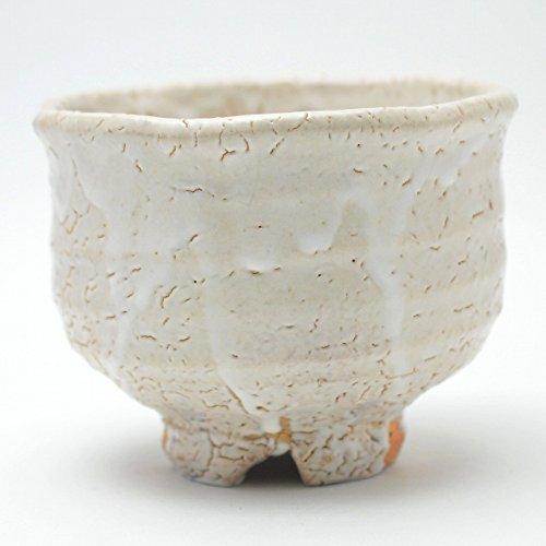 Japanese ceramic Hagi-yaki (Hagi-ware) made by Kohei Tanaka. Matcha bowls.