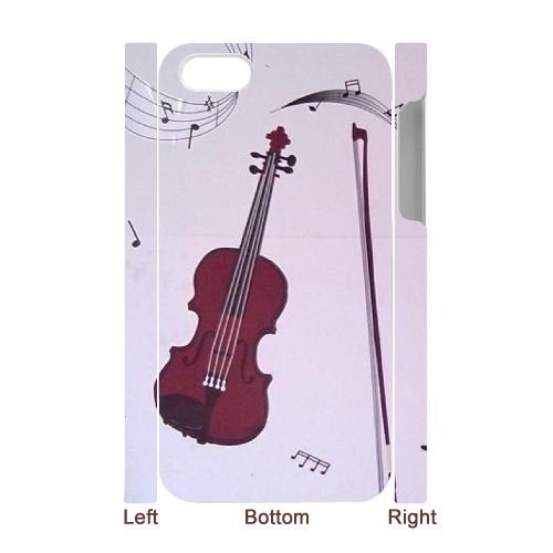SYYCH Phone case Of Personalized Design Violin 1 Cover Case For Iphone 4/4s
