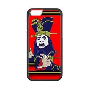 iPhone 6 Plus 5.5 Inch Cell Phone Case Black LO PAN SORCERER Brdgx