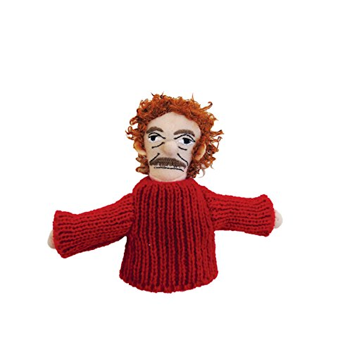 (The Unemployed Philosophers Guild Kurt Vonnegut Finger Puppet and Refrigerator Magnet - for Kids and Adults )