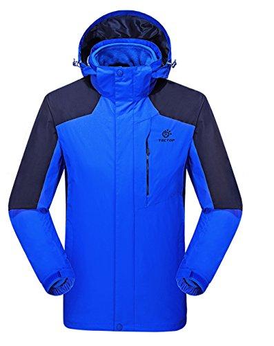 Blue 2 Royal Sports Men's Hooded Coat Dilize Fleece Piece Jacket Liner Wind 1POwvHqx