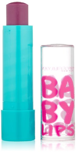 Maybelline New York Baby Lips Moisturizing Lip Balm, Grape Vine, 0.15 Ounce