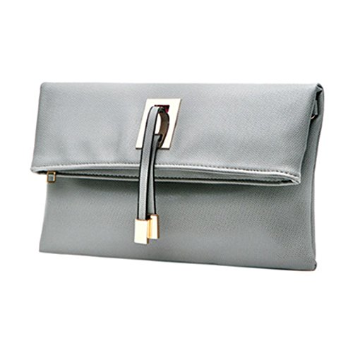 Clutch Purse Women Leather Abshoo Evening Bags Grey Light Clutch Faux n6RvvY4