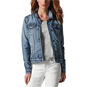 Buffalo David Bitton Women's Knit Stretch Denim Jean Jacket