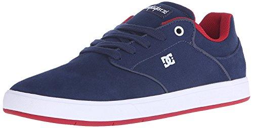 DC Mens Mikey Taylor Skateboarding Shoe, Azul marino/Rojo, 40 D(M) EU/6.5 D(M) UK